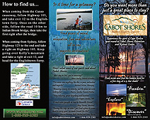 Cabot Shores Brochure - Front Page